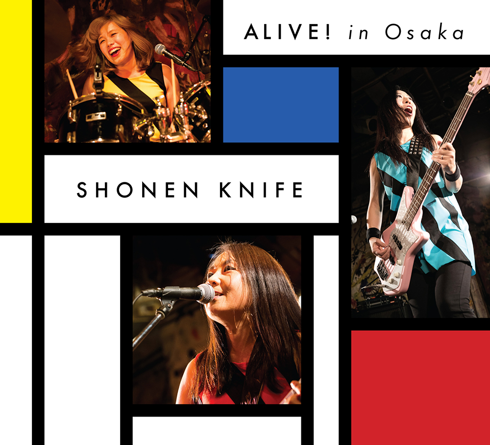 Shonen Knife/ALIVE! in Osaka